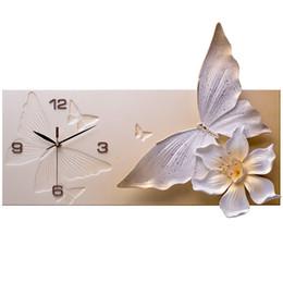 2019 tirer l'horloge horloge murale horloge de la mode salon salle de montre de poche art moderne décorer créativité marée individualité quand l'horloge promotion tirer l'horloge