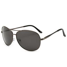 Freies verschiffen gläser porzellan online-AAB21P 2019 Metallrahmen Sonnenbrille Polarisierte Mode Brille Männer Shades Benutzerdefinierte Aviation Style Qualität Made In China BOTERN KOSTENLOSER Versand