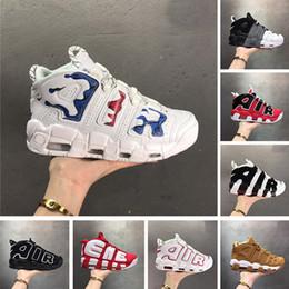 zapatillas pippen Rebajas Con estuche 2019 96 QS Olympic Varsity Maroon Más Zapatillas de baloncesto para hombre 3M Scottie Pippen Uptempo Zapatillas de deporte de Chicago Zapatillas deportivas Tamaño 13