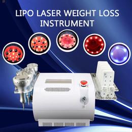 Laser tripolar on-line-Máquina de cavitação pessoal vácuo lipo laser beleza equipamentos infravermelho Bipolar e Tripolar rf máquina de rádio frequência
