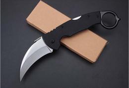 cuchillo doblado de nuevo Rebajas Nuevo 996 Garra Cuchillo Karambit Garra de bloqueo Garra camping camping supervivencia cuchillos cuchillo de regalo de Navidad 1 unids a1584