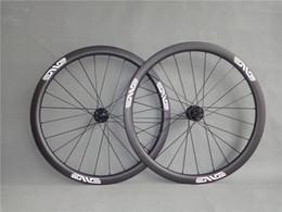rodas de estrada de carbono china Desconto 30/40/45 / 55mm 25mm disco rodas de carbono clincher disco roda centro de bloqueio ou 6 parafusos através do eixo 12 * 100 12 * 142