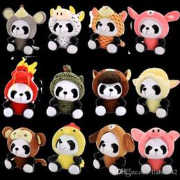 Animais de pelúcia gigantes on-line-20170609 Zodíaco Panda Gigante Para Porco Animais De Pelúcia E Brinquedos De Pelúcia Para Chirdren Presente Frete Grátis
