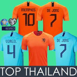 Netherlands Soccer Jersey Football Shirts Holland 19 20 Hollanda Futbol Forması DE JONG 2019 2020 çocuklar Futbol Gömlek Hollanda Footlball Gömlek VIRGIL Camisa Holland MEMPHIS DE LIGT Maillot nereden