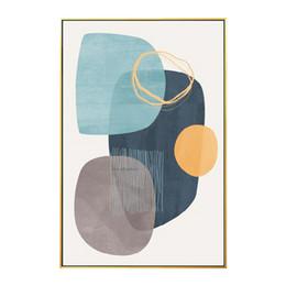 quartos de pinturas abstratas Desconto Pintura a óleo da lona abstrata Geométrica Parede Imagem pinturas ao vivo Sala Quarto Home Wall Art Decor caudros decoracion