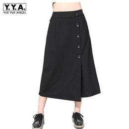 Argentina 2019 Pantalones de Vestir Sólido Negro Cintura Elástica Pantalones Harem Casuales Mujeres Gothic Punk Baggy Streetwear Moda Lápiz cheap harem dresses Suministro