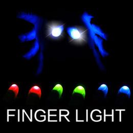 Light Up Thumbs Thumb İpucu Sihirli Hileler Elektronik LED Işık Yanıp Parmak Kadar Parmak İpuçları Trick Sahne nereden