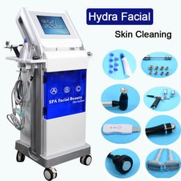 Équipement de beauté gratuit en Ligne-9 en 1 machine de nettoyage de la peau hydrafacial visage allumant hydro équipement de soin de la peau soins du visage beauté livraison gratuite
