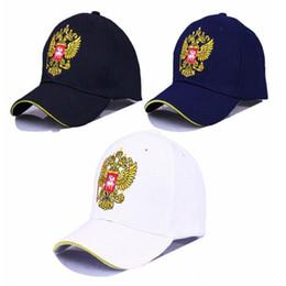 dd8147748e581 Golden Double Headed Eagle Baseball Cap Russia Outdoors Men And Women  Motion Hats Leisure Time Snapback Portable 7 3yc I1