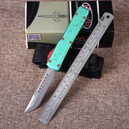 OEM haute qualité CNC usinage hellhound D2 lame alliage d'aluminium poignée EDC tactique combat défense couteau de poche ? partir de fabricateur