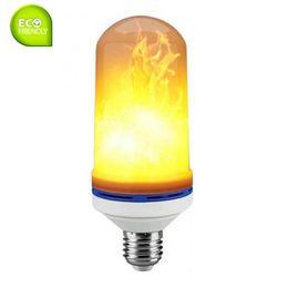 E27 Estoque E27 LED Flicker Flame Lâmpada AC85-265V Amarelo Simulado Queima de Fogo Efeito do Partido lâmpada de Fornecedores de lúmens velas