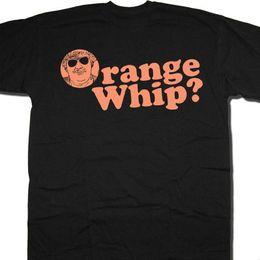 Laranja barata camiseta on-line-Orange Whip T Shirt-Um Tributo Para Os Irmãos De Blues Cult Filme Inspirado Camisa Barato atacado tees Barato por atacado tees