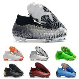 38d2622af 2019 mens Football Boots Wholesale Mercurial Superfly VI 360 Elite Neymar  FG AG Soccer Cleats Big Order Superfly VI CR7 AG Football Shoes