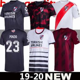 2019 maglie lebron a buon mercato 19 20 River Plate 70 ° anniversario pullover di calcio a casa il terzo 2019 2020 Versione speciale Quintero ALVAREZ Palacios Pratto maglie da calcio