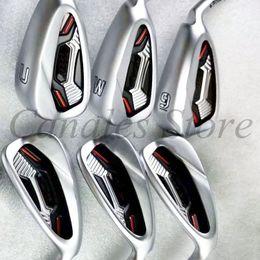 2019 ferros de golfe rígidos G41 Golf Irons Set PLUS Golf Forjado Ferro Clubes 4-9 W / S Regular Stiff Flex Aço Shaft DHL entrega gratuita ferros de golfe rígidos barato