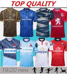 2019 camiseta de fútbol de australia Top calidad 2019 2020 Munster city Rugby jerseys 19/20 Ulster Leinster hombres Rugby jersey Tropic Toulouse Rugby jersey tamaño S-3XL
