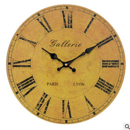 c550faf11f5 2019 vendas de relógios antigos Relógios De Parede Retro Moda Relógios  Digitais Sala de estar Quarto