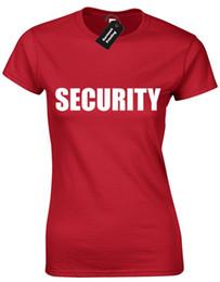 Armee neuheit geschenke online-SICHERHEIT DAMEN T-SHIRT NEUHEIT PARTY PUB ARMY SWAT DOORMAN BODYGUARD CLUB GESCHENK Lustiges freies Verschiffen Unisex T-Shirt Spitze