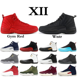 newest 31d3d 6ad1a 2019 XII 12 Herren Basketballschuhe Wntr PRM CNY Gym Rot Playoff The Master  12s Designer Schuhe Sport Sneakers Trainer günstig playoff 12s