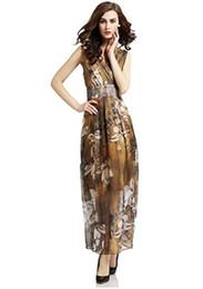 f32f576c0673 Primavera y verano 2018 eBay Amazon Express Vestidos explosivos para mujer  Vestidos bohemios de gasa en la playa