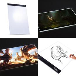 diy tablet Sconti Portable A3 LED Light Pad Box Disegno Tracing Tracer Copy Board Tablet Pad Copyboard per la pittura con diamanti Tattoo Sketching