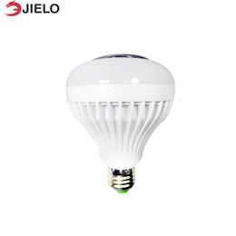 2019 bluetooth lumière intelligente Portable Bluetooth Haut-parleurs Haut-parleurs Télécommande Smart RGB Led Ampoule Haut-Parleur HiFi Music Player Dimmable LED Ampoule Clignotant bluetooth lumière intelligente pas cher