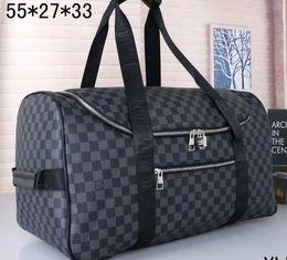 2020 saco marrom do desenhista Marca Moda L e V mulheres saco duffle viajar designer sacos bagagem bolsas sacos de viagem em couro grandes totes preto marrom saco marrom do desenhista barato