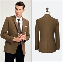 Son Pantolon Ceket Tasarımları Damat Smokin Erkek Takım Elbise Set Rahat Sıska Basit Erkekler Smokin 2 Parça Düğün Smokin (Ceket + Pantolon) supplier piece coat design nereden tek parça tasarım tedarikçiler