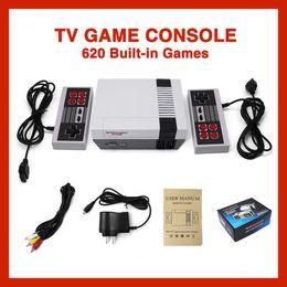 Yeni Geliş Mini TV perakende boxs ile NES oyun konsolları için 620 Oyun Konsolu video Handheld'i saklayabilir nereden lcd pmp tedarikçiler