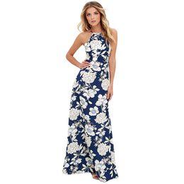 29d31ead249e6 Shop Summer Halter Maxi Dress UK | Summer Halter Maxi Dress free ...
