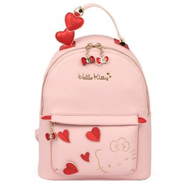 Discount backpacks hello kitty - New Women Girl Hello kitty Backpack bag  Shoulder bag Purse YEY 8f994f666c08e
