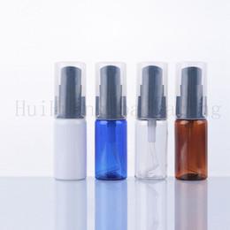 oz bottiglie di lozione di plastica Sconti 50pcs 15ml vuoto lozione bottiglie di plastica con pompa lozione, 15ml di shampoo chiaro bottiglie di PET all'ingrosso 0,5 oz cosmetici