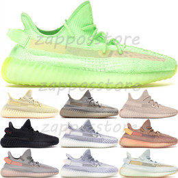 Kanye west sneakers online-Gid Glow 3M Schwarz Static Reflective Hyperspace True Form Clay Herren Damen Kanye West Laufschuhe Lundmark Antlia Synth Sneakers 36-48