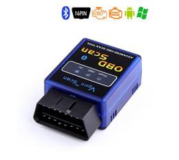 mini pda mobile Rabatt Mini Ursprüngliche Vgate Mini ULME 327 Bluetooth V2.1 OBD ELM327 Scan ELM327 für PC PDA Mobile