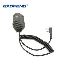1/2 adet Baofeng UV-82 Çift PTT Mic Hoparlör Mikrofon Baofeng İki Yönlü Radyo UV 82 UV-8D UV-89 UV-82HP Walkie Talkie Aksesuarları cheap two way radio speaker mic nereden iki yönlü telsiz hoparlör mikrofonu tedarikçiler