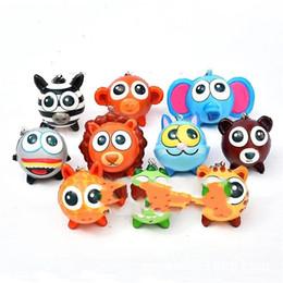 Encantos de comida squishy on-line-Squishy Charme Chave Fivela Cabeça Dos Desenhos Animados Animais Boneca Pingente de Simulação de Crianças Brinquedos Alimentares PU Material Eco Friendly 2 8xd C1