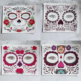merletti magici Sconti Adesivo monouso per ombretti Magic Eye Face Lace Style Impermeabile tatuaggio temporaneo per la bellezza Makup Stage Halloween Party RRA1105