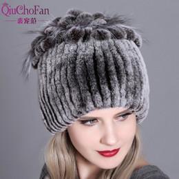 Women fur hat for winter natural rex rabbit fox fur cap russian female fur  headgear 2018 brand new fashion warm beanies cap S18120302 19571d1b1022