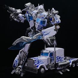 Canada Transformation OP Commander MPM-04 MPM04 LT-02W LT-02-W Alliage de porcelaine bleue et blanche Movie 5 KO Figurine robotisée cheap blue white porcelain toys Offre