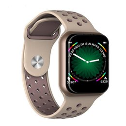 F8 Умный Браслет Часы Водонепроницаемые Bluetooth Частота сердечных сокращений Артериальное Давление SleepFitness Tracker Носимых Открытый Мода Спортивная Группа TWS Наручные от