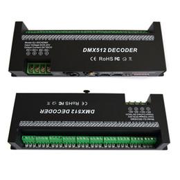 2019 dmx 512 decoder rgb 30 canali RGB decodificatore dmx512 led strip controller dmx 60A dimmer dmx driver PWM Ingresso DC12-24V 30CH dmx decoder controllo luci