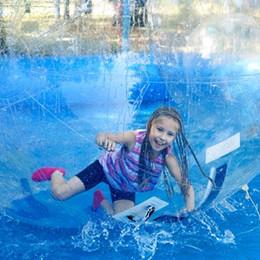 aufblasbare wasserspiele Rabatt Kostenlose Lieferung 2m Wasserball Walking Balls Wasser Zorb für aufblasbare Poolspiele Dia 5ft 7ft 8ft 10ft