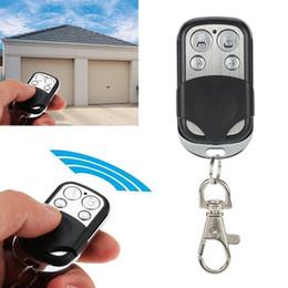 Controle Remoto Duplicador Cópia Código 4 Canais Clonagem Chave para Casa Elétrica Em Casa Do Carro Da Porta Do Controlador Sem Fio 433 MHz RF de Fornecedores de controle remoto fujitsu