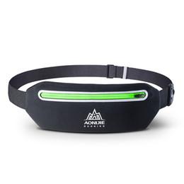 Telefono cellulare sacchetto dell'anca online-Marsupio AONIJIE cinghia di forma fisica Running Pack, Hip Pouch telefono mobile Holder Ultralight per Running Escursionismo Outdoor