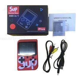 SUP Ordinateur de poche vidéo consoles de jeux Portable rétro 8 bits FC MODÈLE POUR FC 400 en 1 AV JEUX Couleur Joueur Joueur cadeau pour enfants VS PS4 PVP PXP3 ? partir de fabricateur