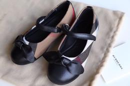 Luxe Mais berry haut de gamme Filles Casual Sandales Enfants Chaussures en cuir filles chaussures sandales tout-aller bow enfants designer chaussures filles sandales Mary Jane ? partir de fabricateur