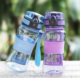 kinder seilseile Rabatt UZSPACE Kinder Wasserflasche 300 ml Tritan 2019 Sommer Kind Auslaufsicher Tour Wandern Tragbarer Seil Tee Meine Lieblingsflasche BPA Frei