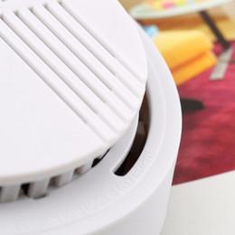 9v батареи Скидка GALO 5 шт. 9 В с батарейным питанием фотоэлектрическая дымовая сигнализация светодиод мигает звуковое предупреждение детектор дыма для дома школа отель