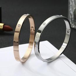 Nouvelle arrivée titane acier Bracelets Or rose Bracelets Couple Bijoux Femmes Hommes Tournevis Bracelets Bracelet ? partir de fabricateur