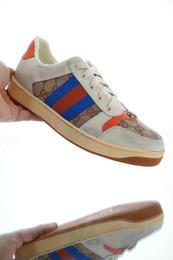 Canada Baskets en toile et en cuir vieilli de la marque New Mens pour les chaussures de designer pour hommes en cuir véritable Offre
